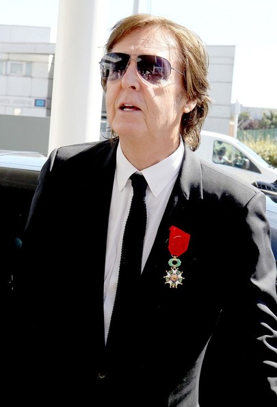 Sir Paul McCartney Honored In France