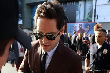 Paul Rudd Celebrity Candids at the 'Ant-Man' Premiere