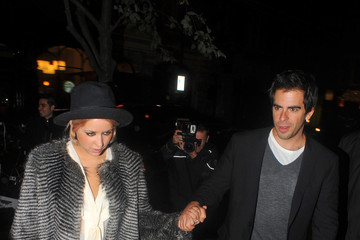 Peaches Geldof Eli Roth Peaches Geldof and Eli Roth Out and About