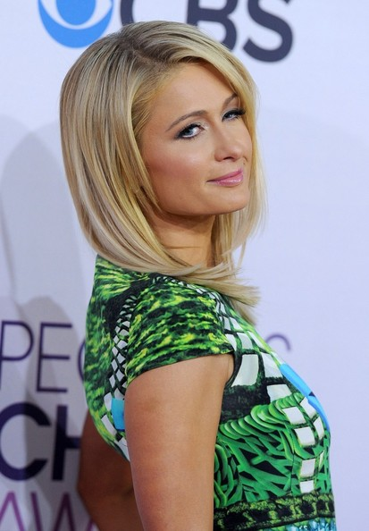 People's Choice Awards 2013..Nokia Theatre L.A. Live, Los Angeles, CA..January 9, 2013..Job: 130109A1..(Photo by Axelle Woussen)..Pictured: Paris Hilton.