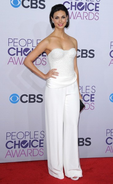 People's Choice Awards 2013..Nokia Theatre L.A. Live, Los Angeles, CA..January 9, 2013..Job: 130109A1..(Photo by Axelle Woussen)..Pictured: Morena Baccarin.