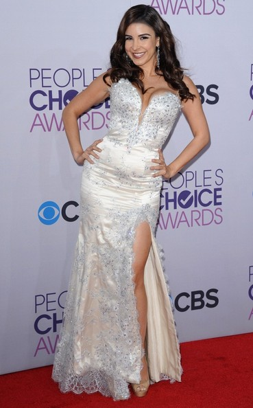 People's Choice Awards 2013..Nokia Theatre L.A. Live, Los Angeles, CA..January 9, 2013..Job: 130109A1..(Photo by Axelle Woussen)..Pictured: Mayra Veronica.