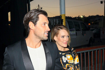 Peta Murgatroyd Maksim Chmerkovskiy Is Seen Outside of Avalon Nightclub in Hollywood