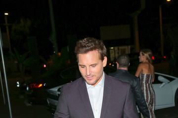 Peter Facinelli Peter Facinelli Outside Nightingale Plaza in West Hollywood