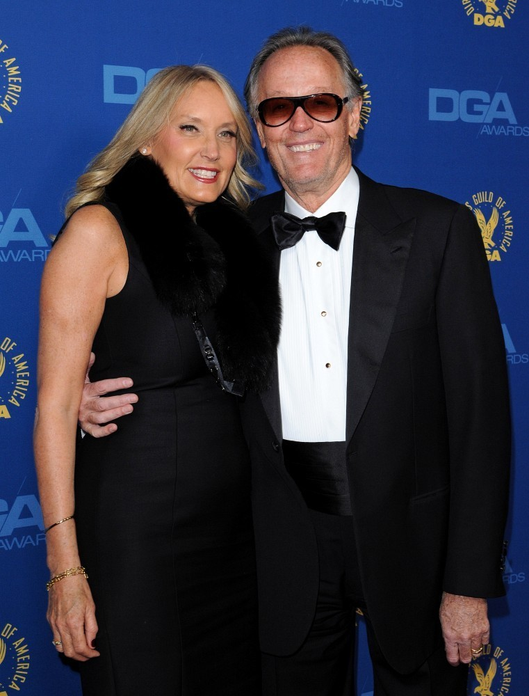 Peter Fonda and Margaret DeVogelaere - 65th Annual DGA Awards