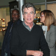 Peter Gallagher Peter Gallagher Leaving 'The Female Brain' Premiere at ArcLight theatre