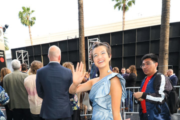 Peyton Elizabeth Lee Peyton Elizabeth Lee Outside 'Solo: A Star Wars Story' Premiere at Dolby Theatre