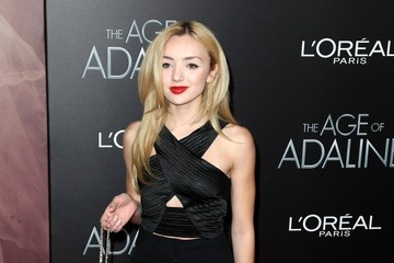 Peyton List 'The Age of Adaline' Premiere - Red Carpet