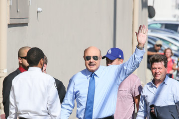 Phil McGraw Dr. Phil Appears on 'Jimmy Kimmel Live'