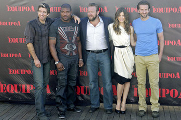 Jessica Biel Sharlto Copley Photocall for 'The A-Team'