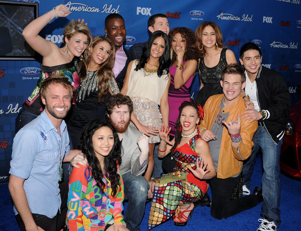 american idol pia images. American Idol Finalist Party