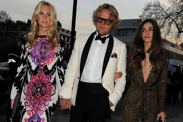 Poppy Delevingne Glamour of Italian Fashion VIP dinner