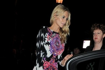 Poppy Delevingne Italian Glamour Exhibit Sightings
