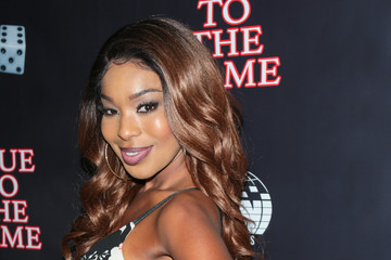 Porscha Coleman Premiere of Imani Motion Pictures' 'True to the Game'