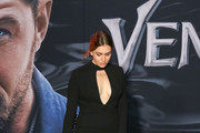 Sophie Simmons is seen attending the premiere of Columbia Pictures' 'Venom' at Regency Village Theatre in Los Angeles, California.