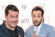 Desmin Borges and Doug Benson are seen attending the Premiere Of FXX's 'You're The Worst' Season 4 at Museum of Ice Cream LA in Los Angeles, California.
