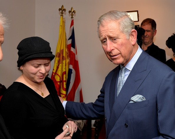 Prince Charles visits the Syrian Orthodox Church.