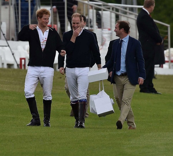 Prince Harry And Prince William Photos