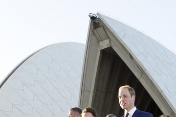 Prince William The Royal Couple at the Sydney Opera House