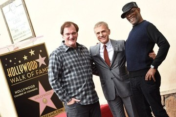 Quentin Tarantino Samuel L. Jackson Christoph Waltz Honored on the Walk of Fame