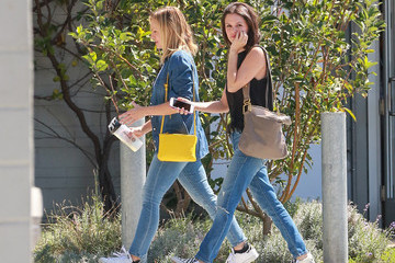 Rachel Bilson Celebrities Visit the Children's Institute