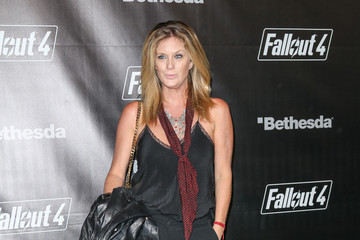 Rachel Hunter Celebrities Arrive at the 'Fallout 4' Launch Party