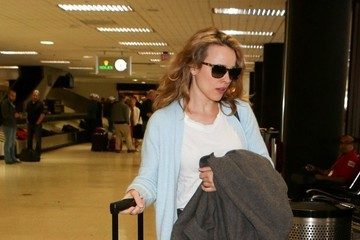 Rachel McAdams Rachel McAdams Arrives at LAX