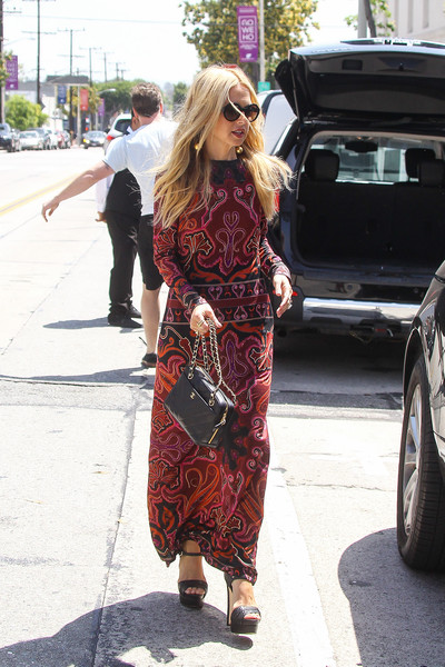 Rachel Zoe Leaves Au Fudge in West Hollywood