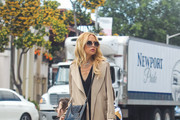 Rachel Zoe shopping in Beverly Hills