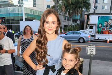 Raegan Revord Olivia Sanabia Is Seen Outside Pantages Theatre In Hollywood