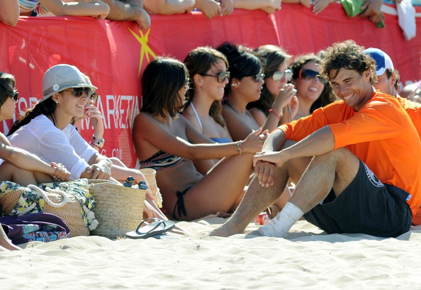 Rafael Nadal Rafael Nadal Photos Rafael Nada And Xisca Perello On The Beach Zimbio