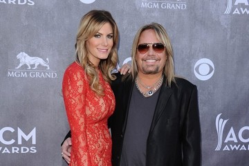 Rain Andreani Arrivals at the Academy of Country Music Awards
