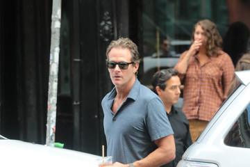 Rande Gerber Rande Gerber And Cindy Gerber Seen In NYC