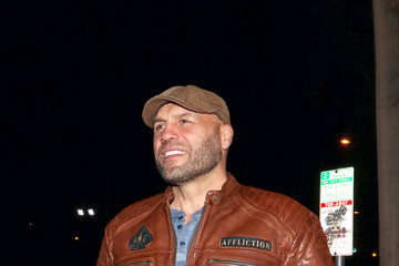 Randy Couture Randy Couture Outside Craig's Restaurant