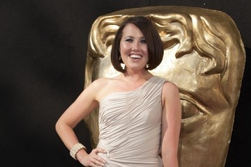 Rebecca Atkinson Arrivals at the BAFTA Awards