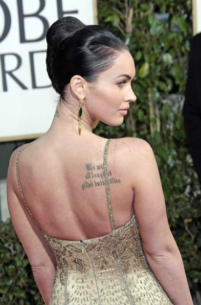 Megan Fox At Golden Globes 2009. Megan Fox Celebs arrive on the