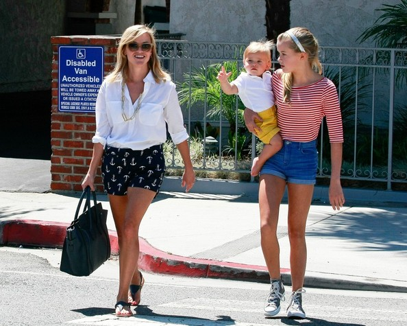 Reese Witherspoon 2013 Kids