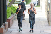 Reese Witherspoon Spotted Jogging In Los Angeles