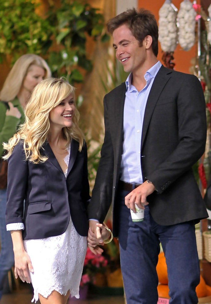 Chris Pine Photos Photos - Reese Witherspoon and Chris ... Michael Fassbender Girlfriend