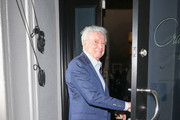 Regis Philbin Outside Craig's Restaurant In West Hollywood