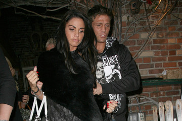 Katie Price Alex Reid Kate Price and Alex Reid Leave the Ivy