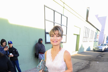 Rena Riffel Rena Riffel Sightings Outside Hollywood Museum