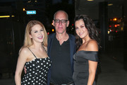 Renee Olstead, Mark Young and Scout Taylor Compton are seen in Los Angeles, California.
