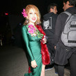 Renee Olstead Renee Olstead Is Seen Outside The Just Jared Halloween Party At Goya Studios