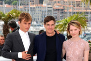 """Photocall for the film """"Restless"""" at the 64th Annual Cannes Film Festival."""