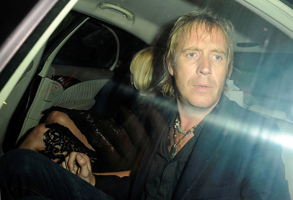 Rhys Ifans and Kimberly Stewart at The Ivy and Mahiki