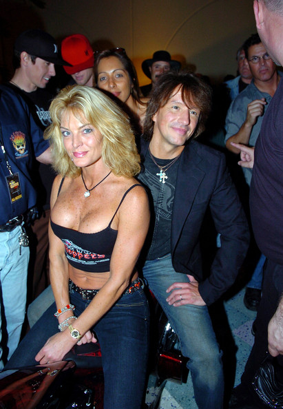 Richie Sambora Photos Photos Pam Anderson And Richie