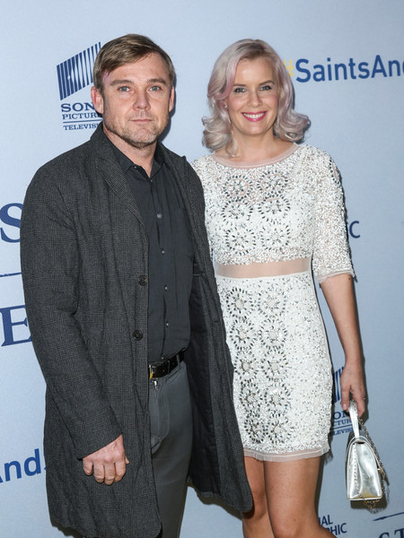 Celebrities Attend the Premiere of 'Saints and Strangers'