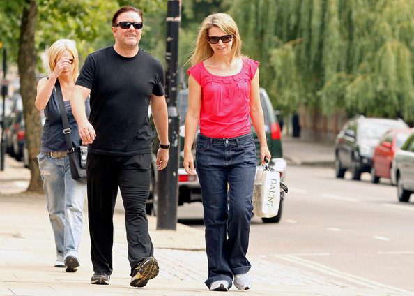 who is ricky gervais girlfriend. Ricky Gervais Comedian/Actor