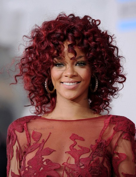 rihanna 2011 hair. Rihanna+hair+2011+red